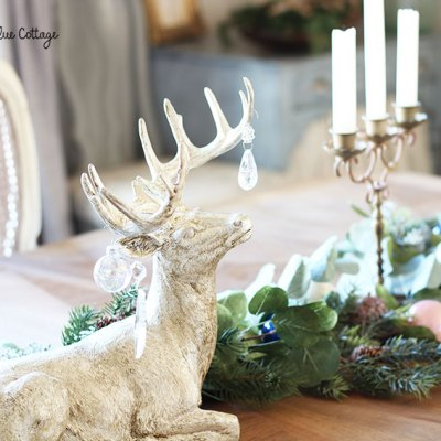 More Woodland Glam in the Dining Room