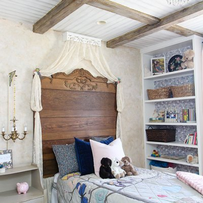 Creating a French Country Bedroom: a before and after