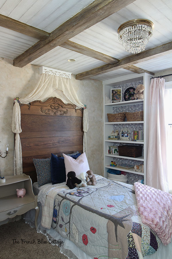 French country little girl's bedroom