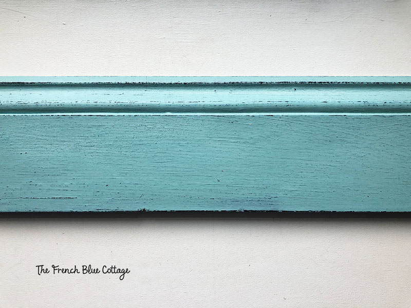sample milk paint board