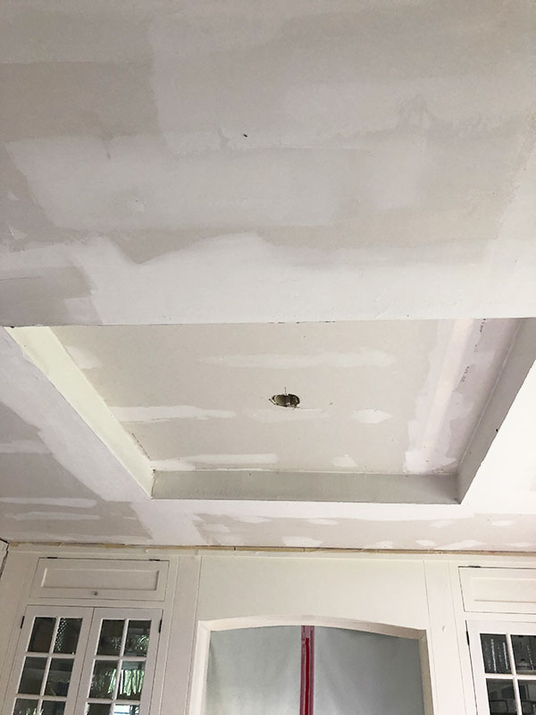 kitchen ceiling inset