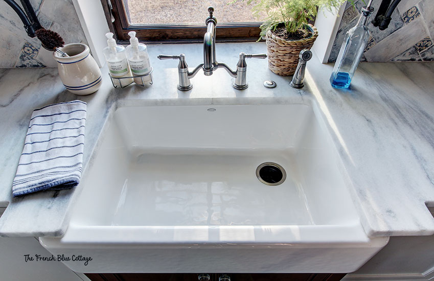 kohler whitehaven farmhouse sink