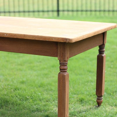 Refinishing a Pine Table and a Sewing Basket – One Room Challenge {week 3}
