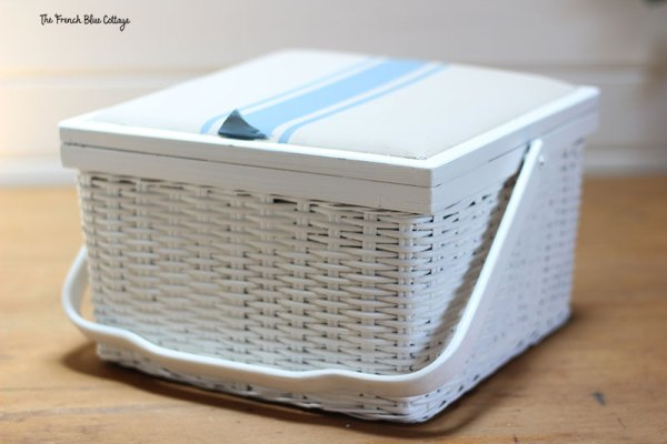 sewing basket upcycle