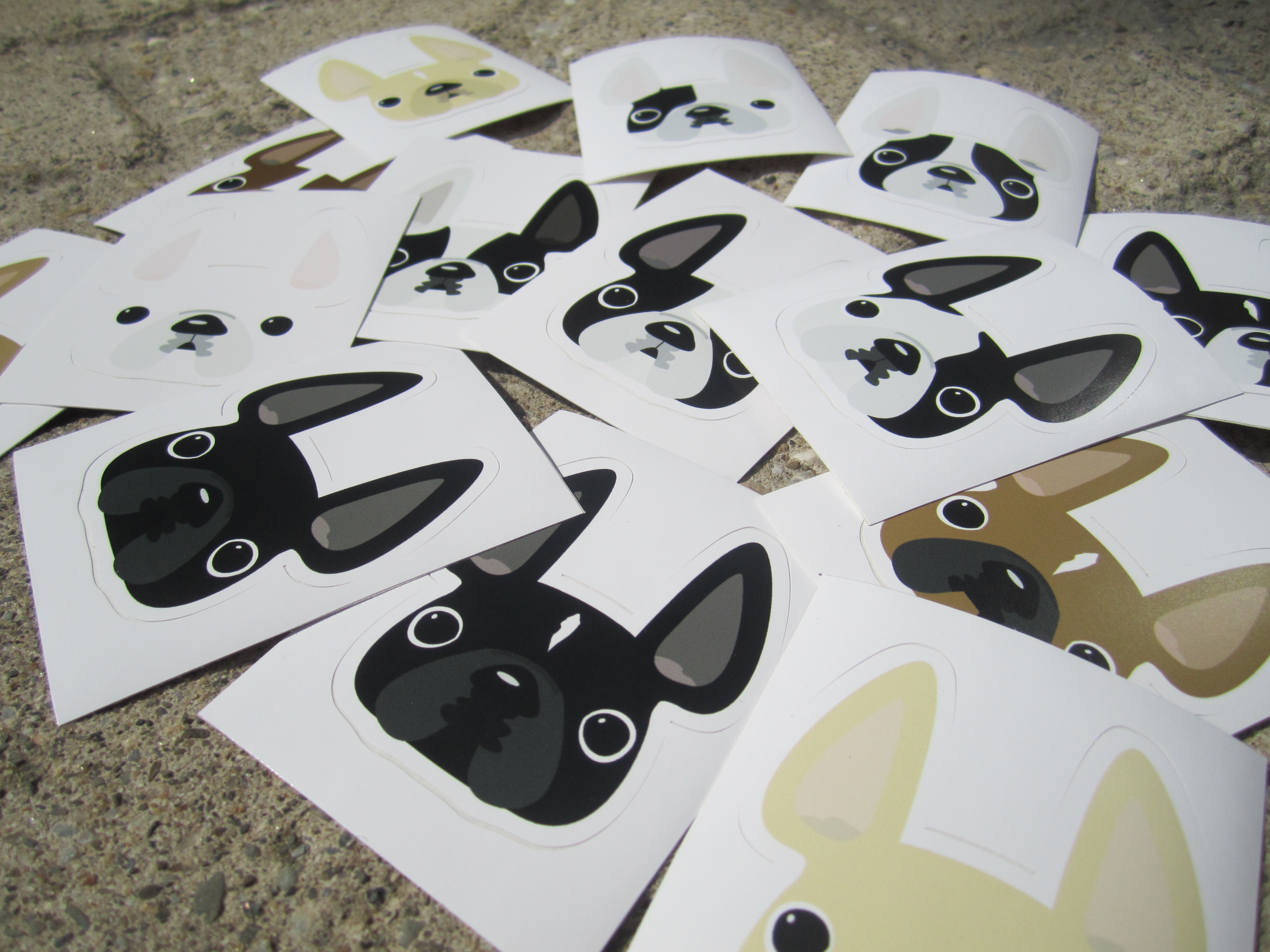 40% OFF FRENCHIE STICKERS!