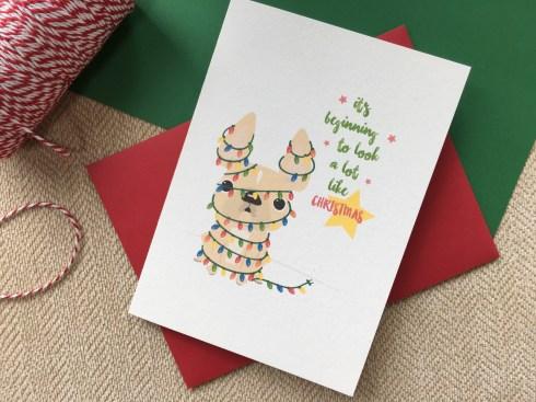 French Bulldog Holiday Card Collection FRENCH BULLDOG LOVE