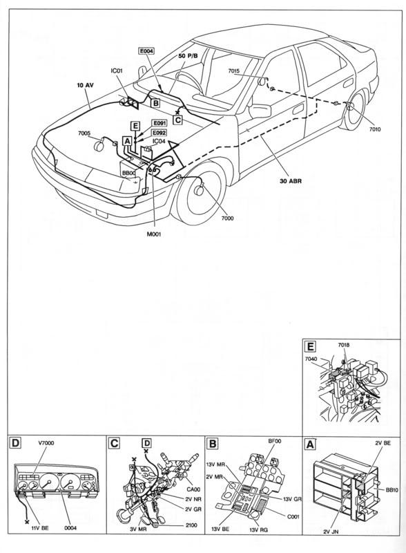 Diagramm Hydraulikkreis Xantia Activa