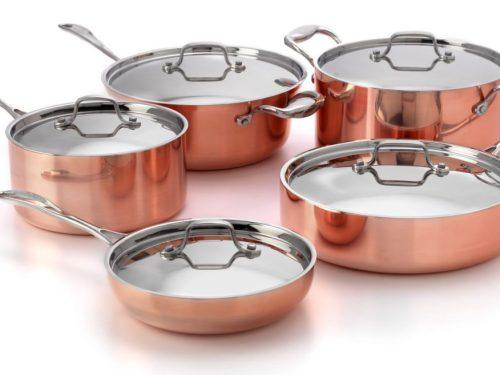Tri-metal-10-piece-cookware