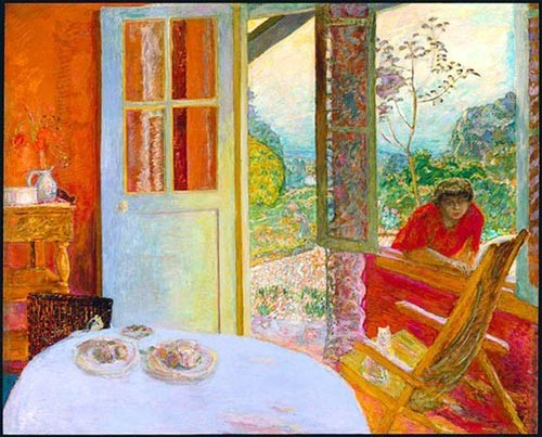 Pierre Bonnard, Dining Room In The Country