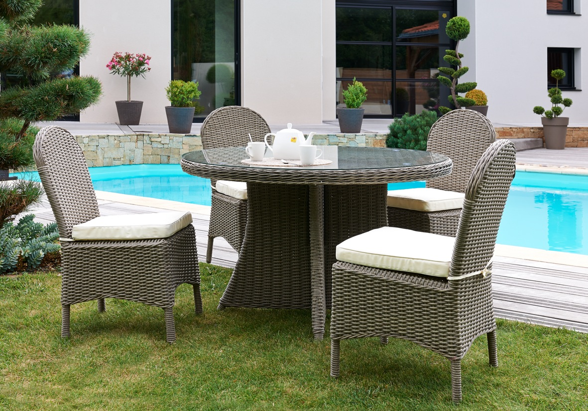 Table De Jardin Plastique Gris | Beautiful Table De Jardin Plastique ...