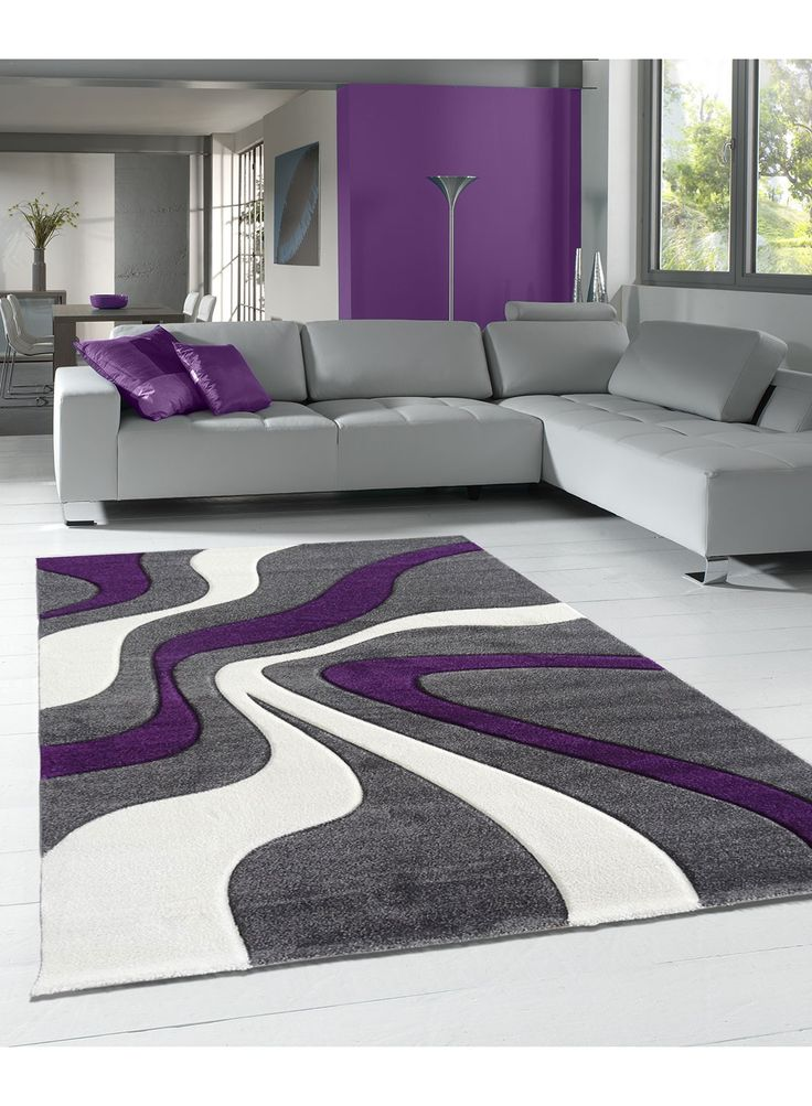tapis mauve gris  Ides de Dcoration intrieure  French Decor