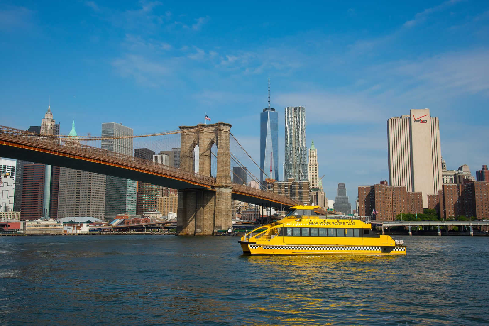 Les Water Taxis de New York  Les taxis bateaux  New York