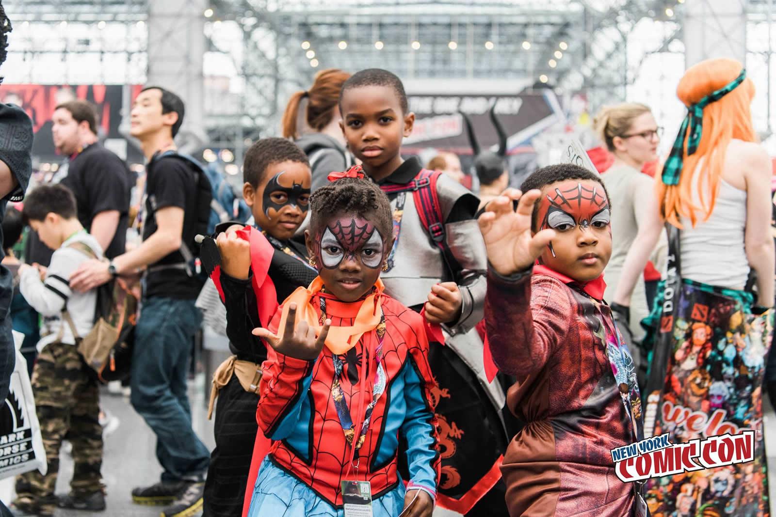 New York Comic Con  Convention de BD mangas jeux vidos cosplay