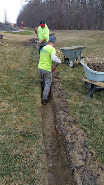 how to build a french drain that will