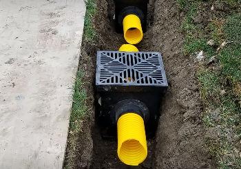 yard drainage failures must watch