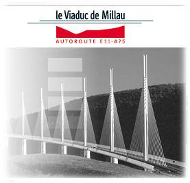 Viaduc de Millau on A75