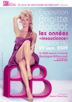 bardot exhibition poster