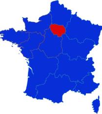 Ile fe France map