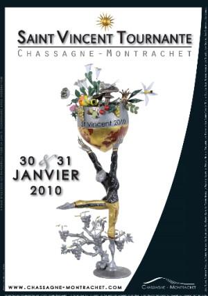 st vincent tournante 2010 poster