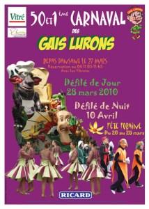 carnaval des gais lurons poster
