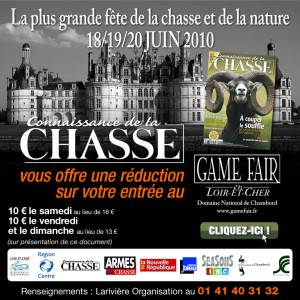 Game Fair at Chambord