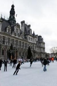 hotel de ville paris skating rink