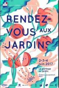 Rendezvous Jardins 2017 poster