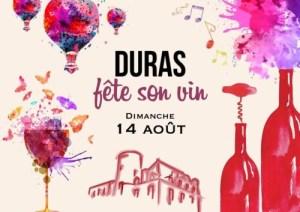 Duras wine poster