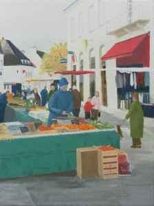 Sunday market in Chablis ©Drew Hetherington