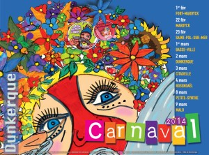 dunkerque carnaval poster