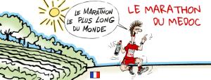 Medoc Marathon poster