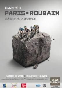 2014 paris roubaix poster