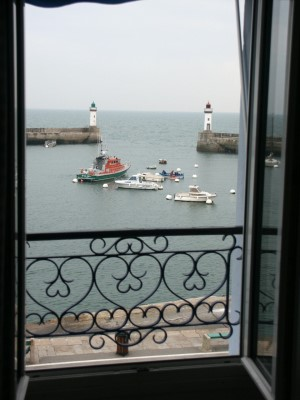 view from Hotel Atlantique, Le Palais
