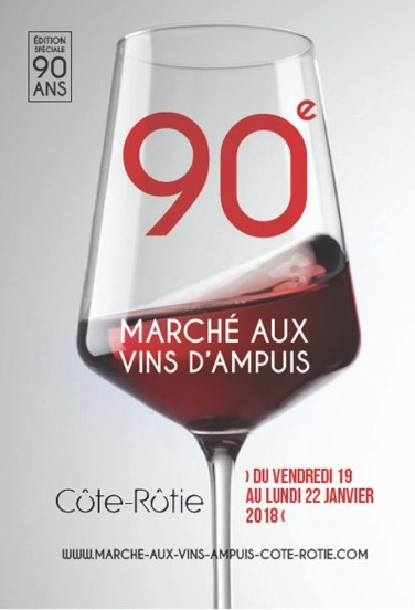 Ampuis wine market poster 18