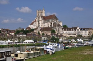 Auxerre and the River Yonne