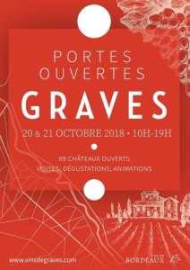 Graves wine weekend poster