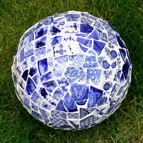 Picassiette Mosaic Bowling Ball