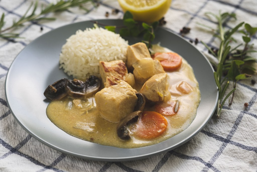 Turkey Blanquette Recipe