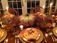 Thanksgiving table setting | French Gardener Dishes