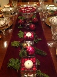 Elegant Christmas Table Setting | French Gardener Dishes