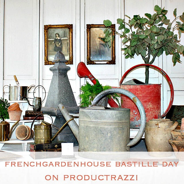 A French Garden House Bastille Day