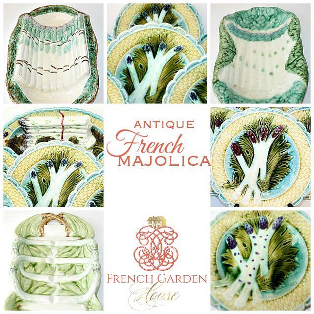 AntiqueFrenchMajolica1FrenchGardenHousecom