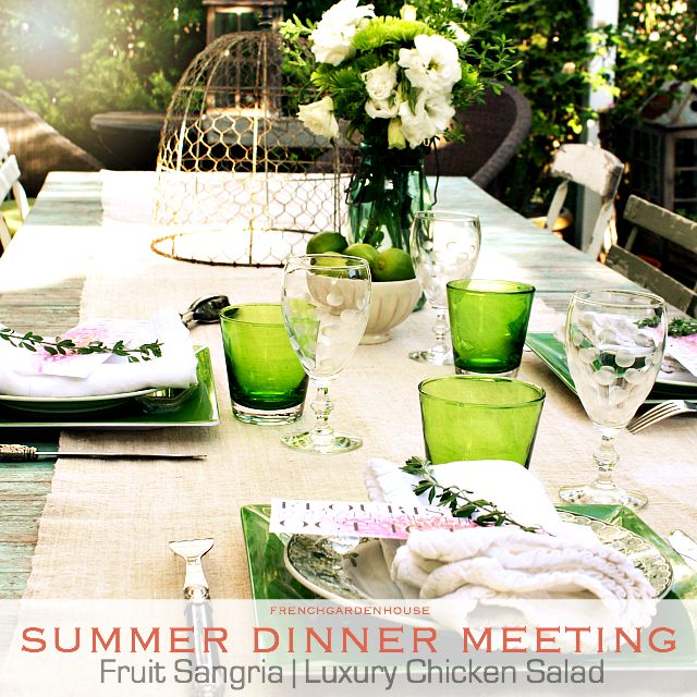 FLOURISH Summer Dinner Meeting