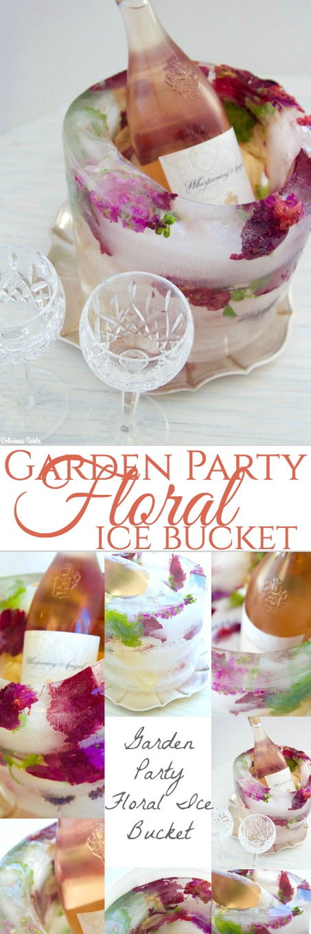 GardenFloralIceBucket