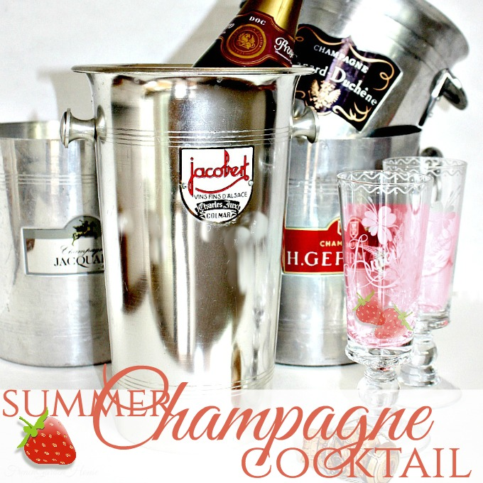 SummerChampagneCocktail