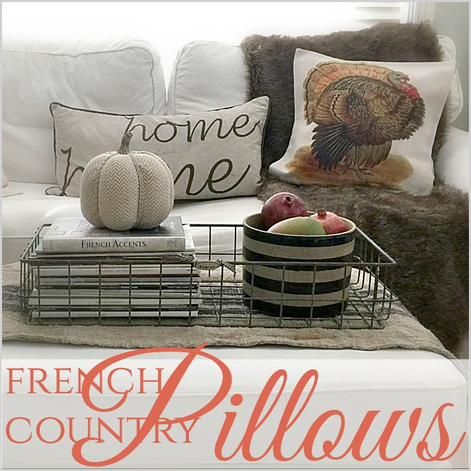 Decorating For Fall With Seasonal Pillows