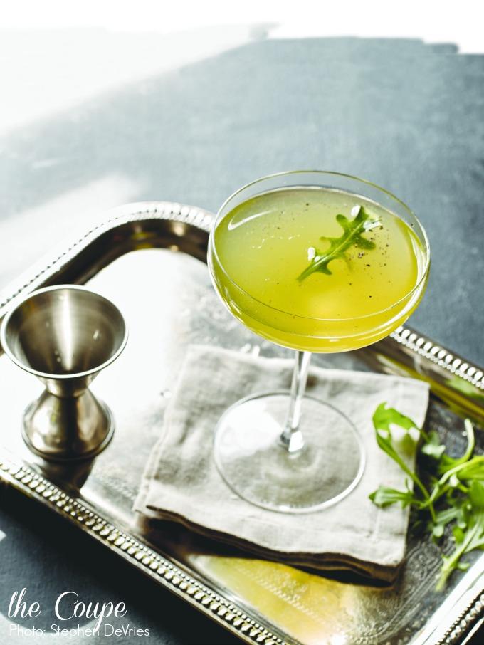 arugula-martini