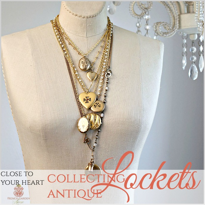 Secret Life of Antiques | Collecting Antique Lockets