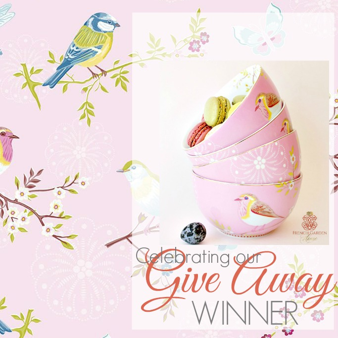 CELEBRATING OUR GIVE AWAY WINNER | SPRING TABLEWARE