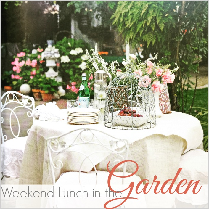 LUNCH IN THE GARDEN | THE BEST SANDWICH